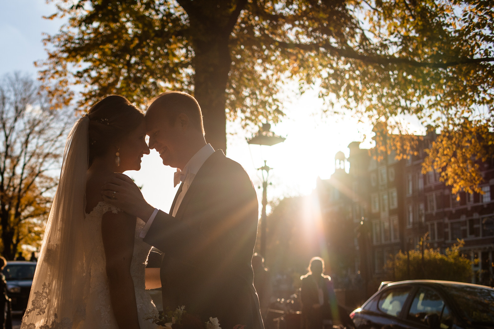 wedding picture by wedding photographer Amsterdam
