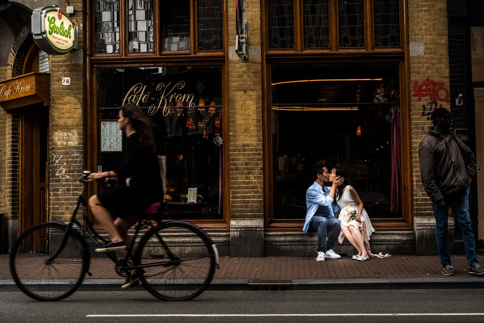 Love shoot in Amsterdam