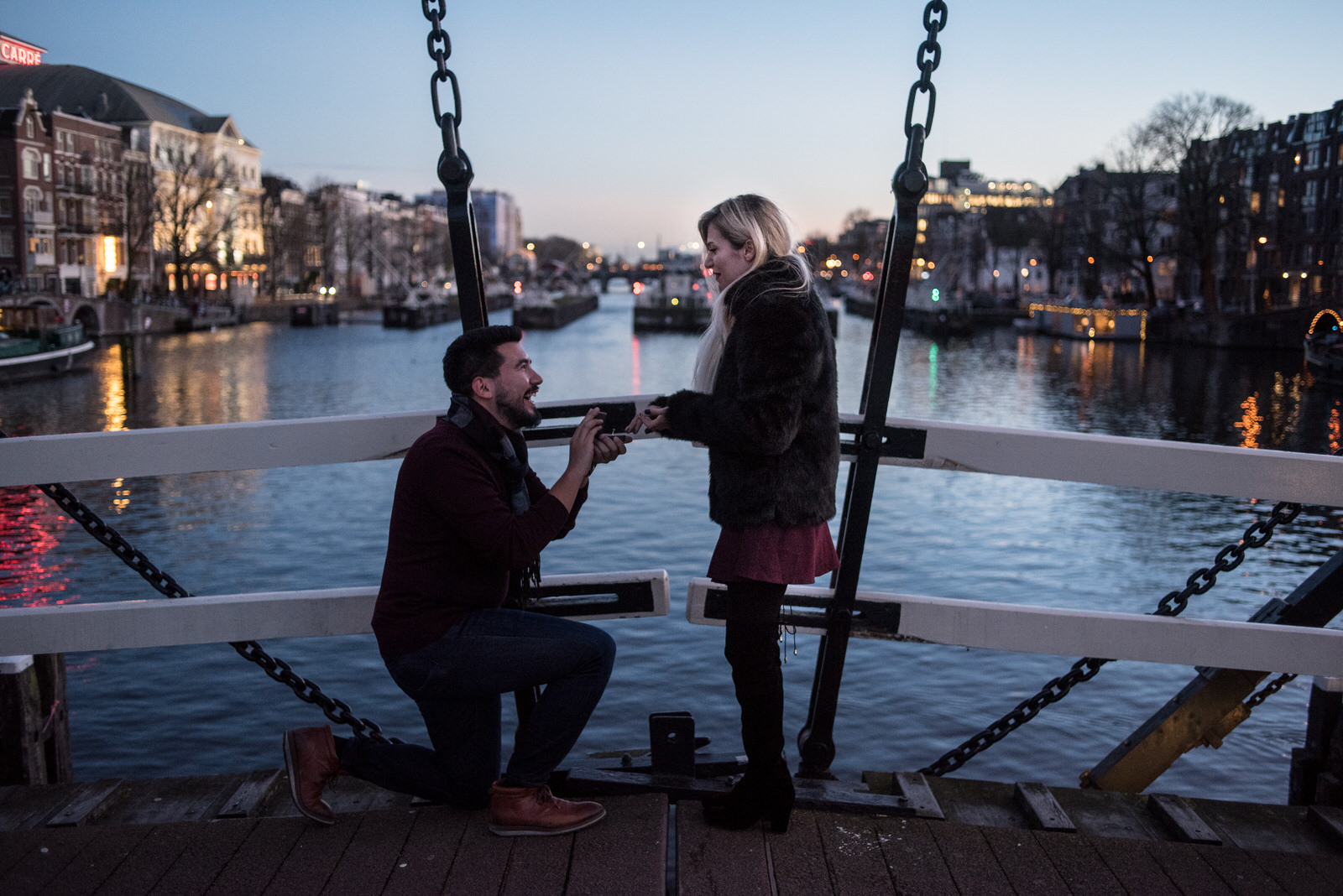 5 most asked questions about proposal photography in Amsterdam